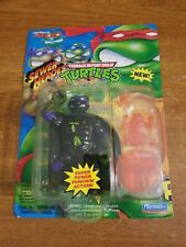 Vintage TMNT Super Don 1993 Sewer Heroes Orange Partially Punched