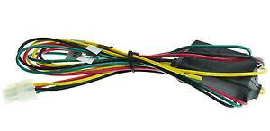 S/O ALPINE PKG-RSE2 PKGRSE2 GENUINE 4 PIN POWER PLUG *SPECIAL ORDER*