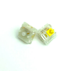 JWICK Yellow mechanical linear switches
