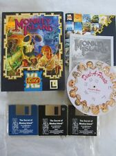 "MONKEY ISLAND  PC 3.5"" Floppy Disk - ORIGINAL BIG BOX 1991"
