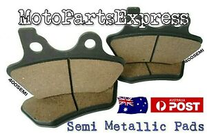 HARLEY DAVIDSON FRONT AND REAR BRAKE PADS FLSTN 1450 SOFTAIL DELUXE FLSTNI