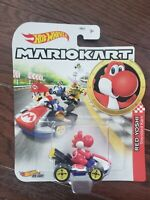 Hot Wheels Red Yoshi Super Mario Kart Character Car Diecast 1:64 Scale