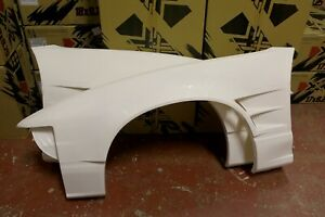 SRB POWER +55mm VENTED FRONT FENDERS / WINGS FOR 200SX S13 180SX