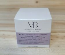Meaningful Beauty Wrinkle Smoothing Capsules Advanced Formula~New In Box~