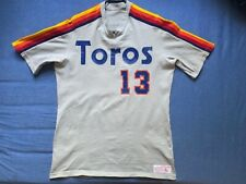 Men's vtg Goodman & Sons Tuscon Toros game used jersey Mike Anderson #13 size L