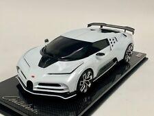 1/18 MR Collection Bugatti Centodieci Quartz White Carbon Fiber Base IN STOCK