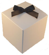 Large 1 piece Single Cupcake boxes and matching inserts ~Wedding & Party Favours