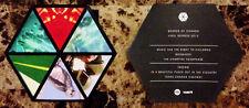 BOARDS OF CANADA Vinyl Repress Ltd Ed RARE Sticker +FREE Dance/EDM/Rock Stickers