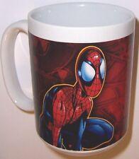 "Spiderman 2004 Ceramic  MUG  CUP 4 1/4"" Very Nice Spider-Man Marvel Character"