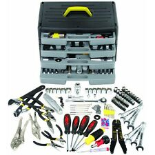 105 Pc Mechanics Tool Kit / Set - Sockets, Screwdrivers, Pliers, Wrenches & MORE