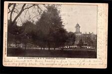 1906 main building I.S.N.U. Normal School College Illinois postcard