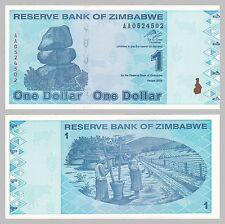 Simbabwe / Zimbabwe 1 Dollar 2009 p92 unz.