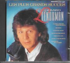 GERARD LENORMAN - Les plus grands succes CD Album 16TR (ARCADE) 1988 HOLLAND