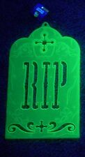 New Graveyard Headstone Glow in the Dark Halloween Party House Decoration