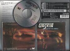 "GASKIN - End Of The World +2bonus"" JAPAN CD w/OBI RAVEN NWOBHM"