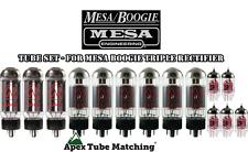 Tube Set for Mesa/Boogie Triple Rectifier JJ Electronics/TESTLA valves