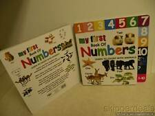 MY FIRST BOOK OF NUMBERS LEARN TO COUNT WITH ANIMALS HARDCOVER BRAND NEW