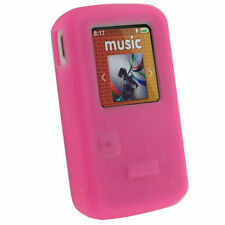 Silicone/Gel/Rubber MP3 Player Cases, Covers & Skins with Clip