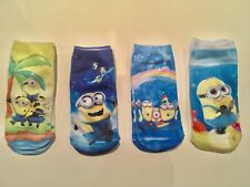 Only $3 / Pair!! Super Cute Cartoon Socks For Kids - Despicable Me