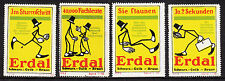 400212/ Reklamemarke - ERDAL Schuhcreme - 4 Stück