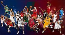 """Michael Jordan LeBron James AI USA Basketball All Star Wall Poster 24""""x13"""""""