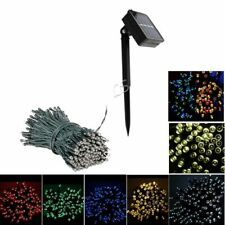 Outdoor Waterproof Solar Chains Fairy Lights Holidays And Valentine's Decoration