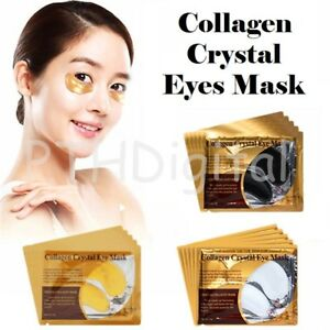 RM5 X10PCS Collagen Crystal Eye Mask Eyelid Care Patches Dark Circles Pad