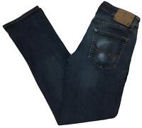 American Eagle Jeans 30 x 34 Original Straight Blue Denim Medium Wash Stretch