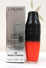 Lancome Matte Shaker Liquid Lipstick Matte Finish - Magic Orange  - 186 - BNIB