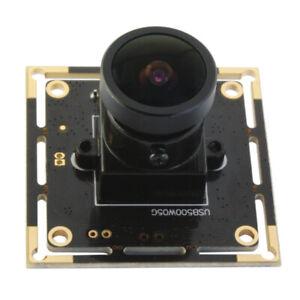 HD 5MP USB2.0 Camera Module Aptina MI5100 CMOS Webcam w/ 170 Degree Fisheye Lens