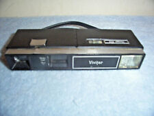 VINTAGE VIVITAR 602 110-FILM CAMERA WITH BUILT-IN FLASH AND STRAP