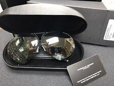 New Genuine Porsche Design P8478 63 MM Sunglasses Titanium Matt Black Men Women