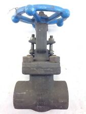 "SMITH GATE VALVE A105 1-1/2"" 800 FORGED STEEL (B445)"