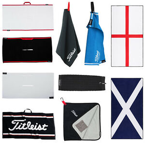 Titleist Towels Player Trolly Golf Cotton Microfibre Technology
