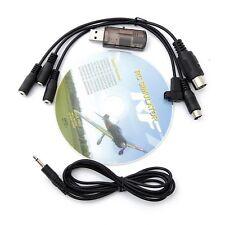 22 in 1 22in1 RC Cavo USB per simulatore di volo RealFlight G7 G6 G5.5G5 Phoenix
