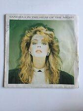 Ref906 Vinyle 45 Tours Sandra In The Heat Of The Night