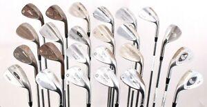 Lot of 24 Golf Wedges Tour Edge Mizuno Callaway Titleist Scratch Mizuno RH/LH
