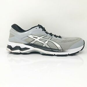 Asics Mens Gel Kayano 26 1011A541 Cloud Gray Running Shoes Lace Up Size 11.5