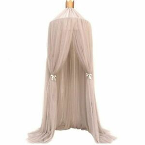 Hanging Baby Bed Canopy Mosquito Net Dome Curtain Tent Baby Crib Netting Round