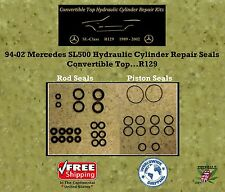 94-02 Mercedes SL500 Hydraulic Cylinder Rod & Piston Seals Convertible Top R129