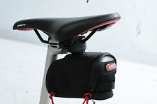 ABUS ONYX ST 85 KF CHALLENGE QUICK RELEASE CYCLE CLIP ON BIKE SADDLE STASH BAG