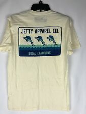"Jetty Apperal Co. Men's T Shirt ""Local Champions"" Sword Fish NEW Small"