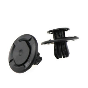 10 Car Chassis Shield Trim Retainer Clips for Honda