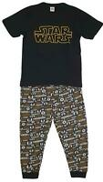 Mens Boys Cotton Pyjama Set Star Wars Pjs Nightwear