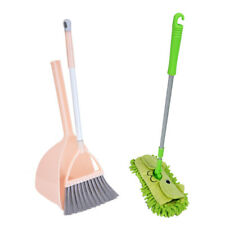 3pcs Kid's Housekeeping Cleaning Tools Set Small Mop Small Broom Small Dustpan