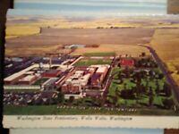 aerial view POST CARD  WA STATE PENITENTIARY WALLA WALLA WASHINGTON