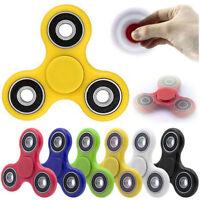 3D Fidget Finger Hand Tri-Spinner EDC Ceramic Bearing Gift Toys Relieve Stress .