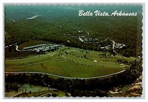 1983 Bella Vista Arkansas Vintage Postcard Continental Aerial View Card