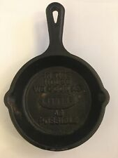 "Lodge 3.5"" Mini Cast Iron Skillet In This House We Cook as Little as Possible"