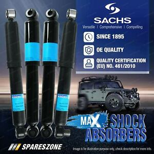 Front + Rear Sachs Max Shock Absorbers for Isuzu D-Max TF 2WD 3.0 Turbo Diesel